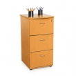 Milano Designer 3 Drawer File by OFM Industries