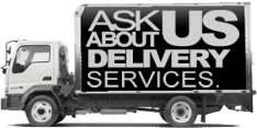 ASk about our delivery services